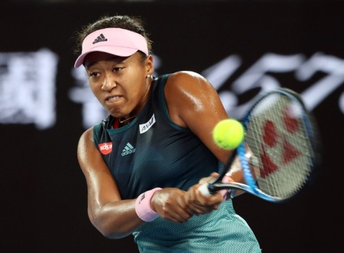 Tennis: Osaka clubs her way into Australian Open second round