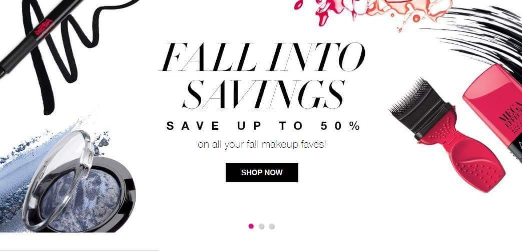 Who doesn't love a makeup sale! 50% savings at my New Avon online store, youravon.com/awright6142. #savings #fall #AvonRep
