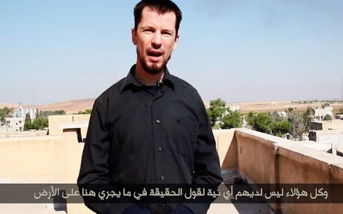 ISIS Hostage Cantlie in a Propaganda Video from Besieged Kobani
