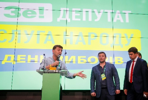 Zelenskiy's party in spotlight as Ukraine holds snap parliament election