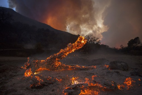 The Sand Fire Burns in California: Pictures