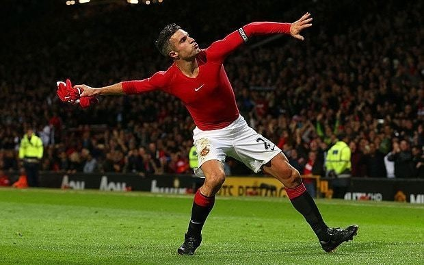 Robin van Persie's Manchester United career is in decline, right? Wrong - his recent scoring rate is better than ever