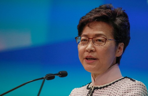 China plans to replace Hong Kong leader Lam with 'interim' chief executive: FT