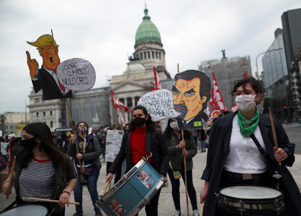 World's youth rallies against climate change