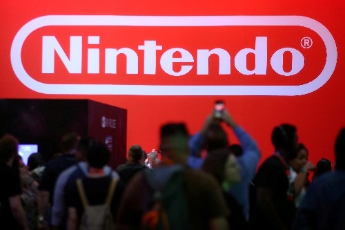 Nintendo shares fall as much as 5 percent after conservative earnings guidance