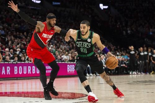 Tatum's 3-point shooting carries Celtics past Blazers