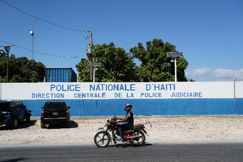 Heavily armed foreigners arrested in Haiti sent to United States, officials say