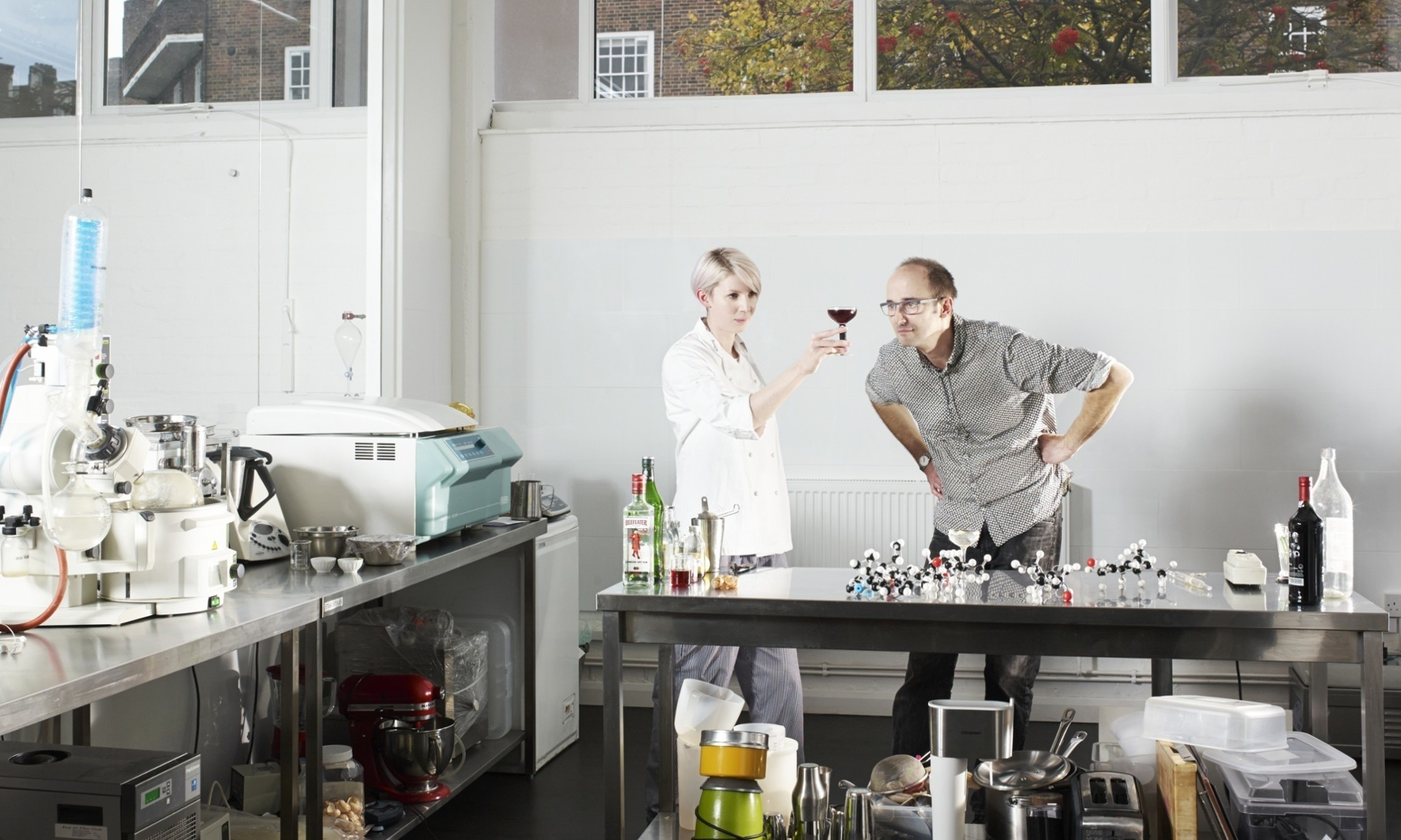 Cocktail craftsmen add a dash of science to the mix