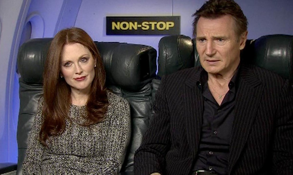 Liam Neeson: 'I've never been more nervous than when singing in front of Julie Andrews'