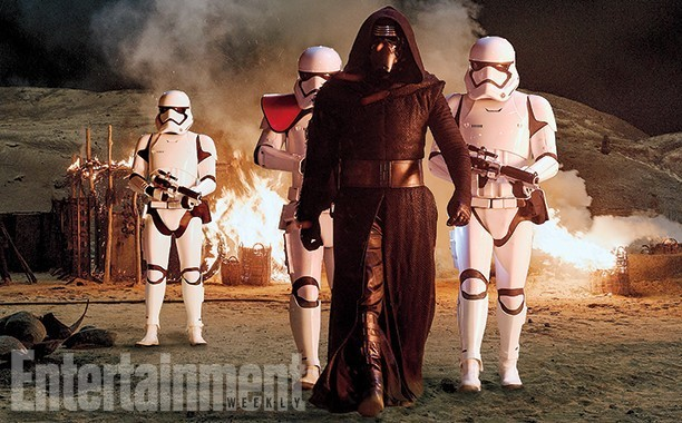 Star Wars: The Force Awakens: Kylo Ren's shroud is pulled back at last, but...