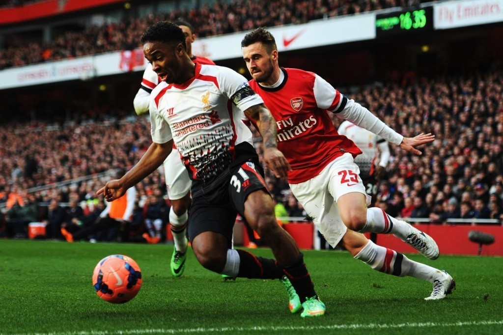 Shutting Down Raheem Sterling Is the Biggest Test for Arsenal's Defence