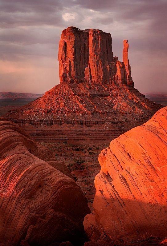West Mitten/Monument Valley, Utah (USA)