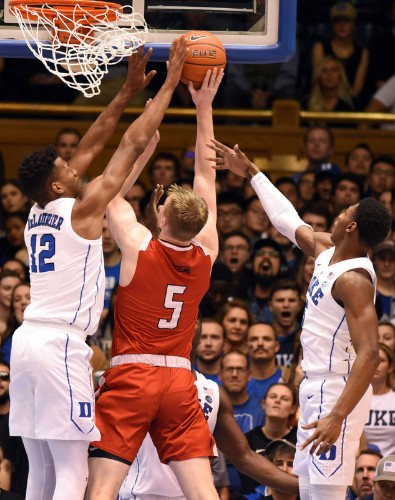No. 3 Duke demolishes Hartford