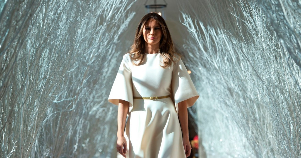 Melania Trump's F*cking Christmas Decorations, Ranked