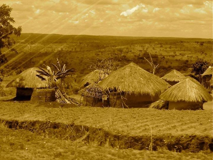 African Hut (Kraal): Malawi, Central Africa