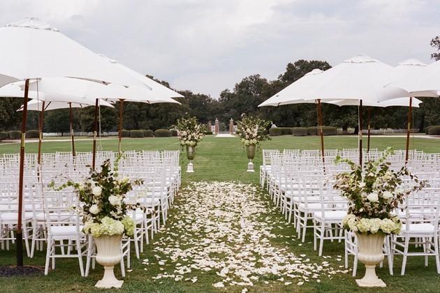 A Formal Fall Wedding in South Carolina