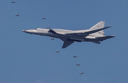 Nuclear-capable Russian bomber crashes amid snowstorm: Defence Ministry