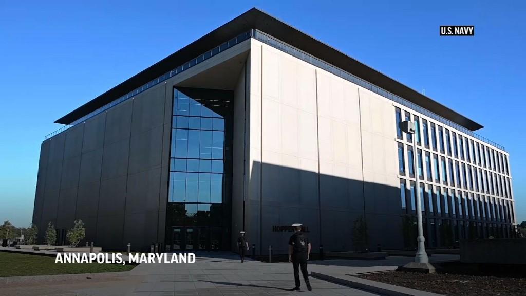 Black woman makes history at US Naval Academy