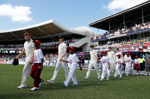 Cricket: West Indies win toss, elect to bat v England in first test