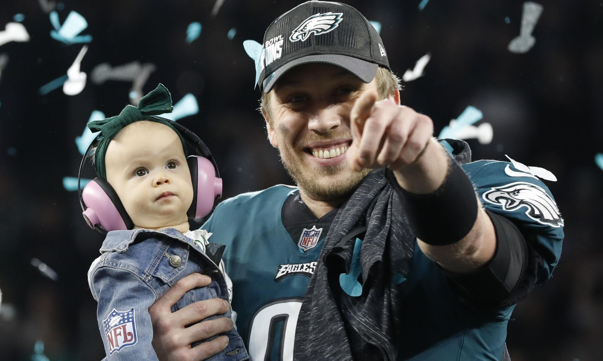 'I have daily struggles': Super Bowl MVP Nick Foles reflective after victory