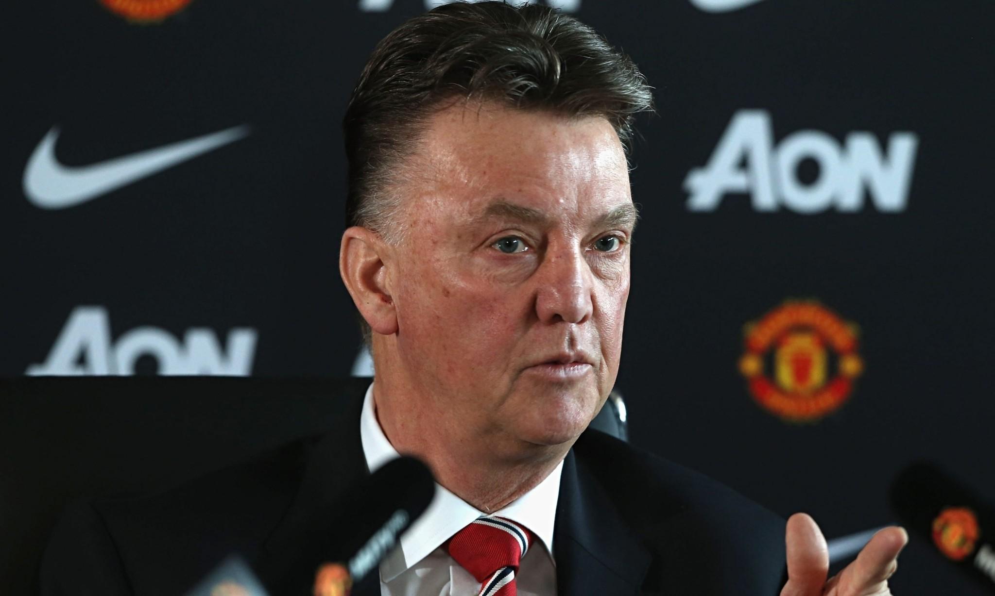Louis van Gaal: Manchester United do not have a 20-goal striker