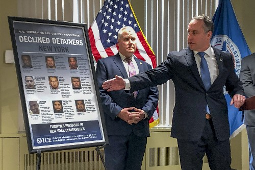 ICE leader blames 'sanctuary' policies for NYC killing