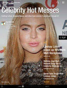 Hot Messes - Magazine cover
