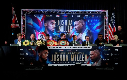 New opponent for Joshua to be announced next week, promoter says