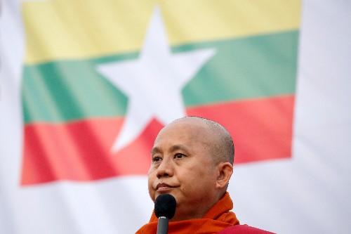 Myanmar official says runaway monk 'incited hatred' against Suu Kyi