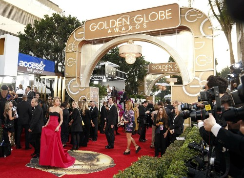 Hottest Celebrity Photos at the Golden Globes