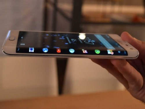 Samsung's Next Major Galaxy Phone Could Come With A Crazy, Flexible Screen That Curves Around Its Edges