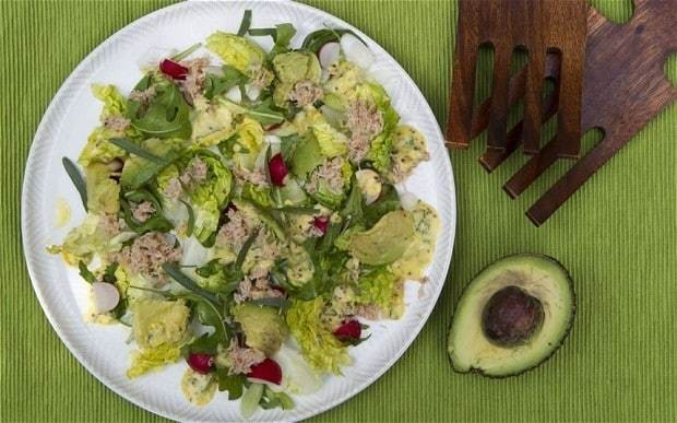 Speedy weeknight suppers: crab, avocado and radish salad