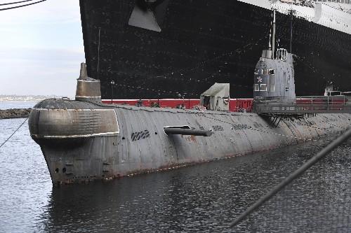 Former Soviet submarine docked in California to be sold