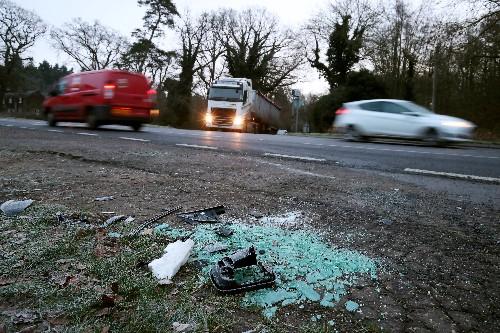 UK's Prince Philip, 97, escapes unhurt from car crash