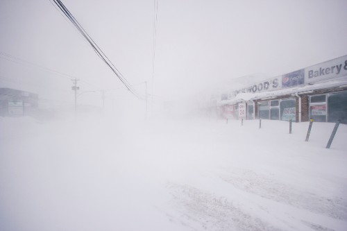 Blizzard slams Canada's Newfoundland, state of emergency declared in capital
