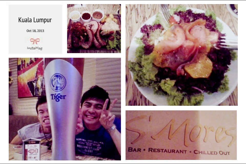 dinner with friends at S'mores Bangsar South #dinner