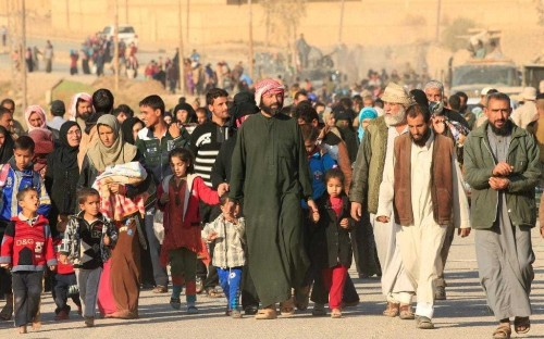 Iraqi forces accused of beating and killing civilians fleeing Isil