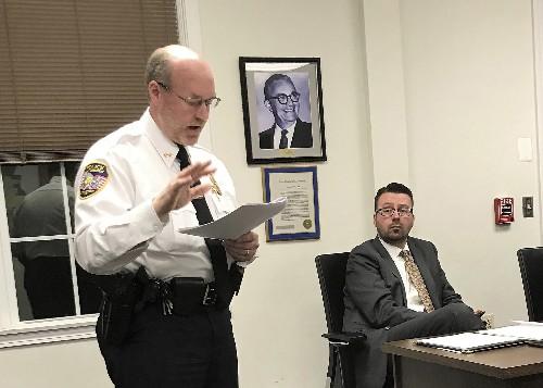 Chief: Officer's Proud Boys membership didn't break policy