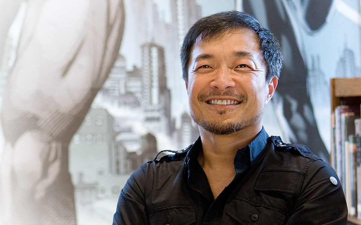 On the Red Couch with Comic Book Icon Jim Lee