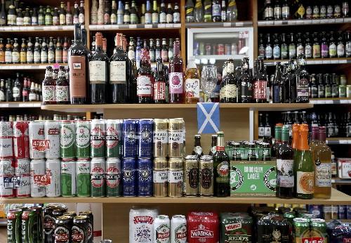 Scotland bans bargain-basement booze in public health move