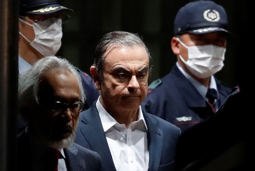 "Backstory: Covering the Carlos Ghosn saga: Japanese ""burasagari"" and a bit of luck"