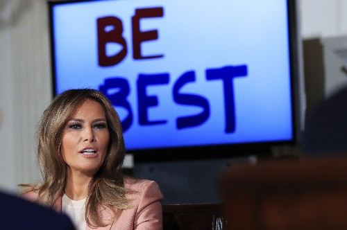"""First lady looks for ways bureaucracy can advance """"Be Best"""""""