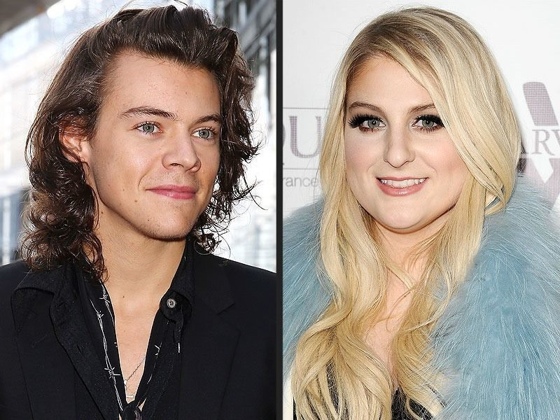 Harry Styles and Meghan Trainor Wrote a Love Song Together