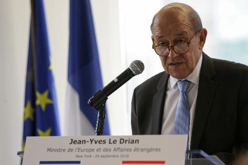 France, Iran close to restoring ambassadors: foreign minister