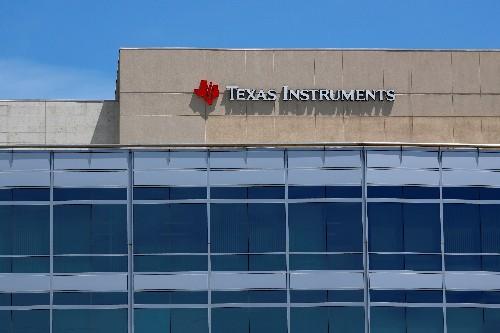 Texas Instruments übertrifft Erwartungen trotz Gewinnrückgang