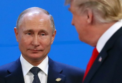 Trump: 'may' talk to Putin at G20 about Russian meddling in 2020 election: NBC