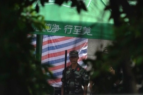 The Latest: Germany expects China to respect Hong Kong law
