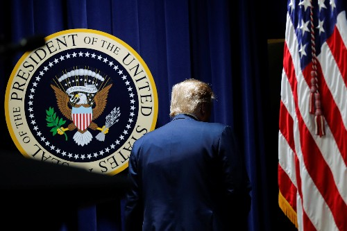 Trump approval drops three points to 2019 low after release of Mueller report