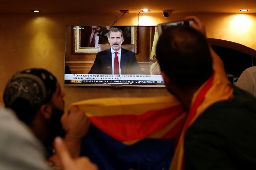 Metro, roads disrupted in Catalonia pro-independence protest
