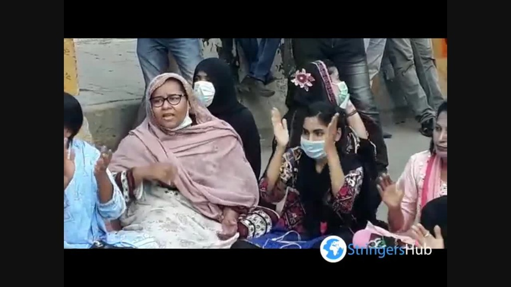 Demonstration of civil socity against women and child rape in Karachi, Pakistan 3